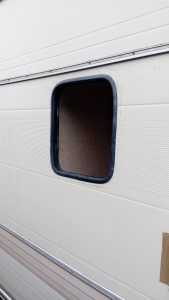 Window seal fitted
