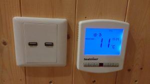 Propex Heatmiser Slimline-N PRT Thermostat