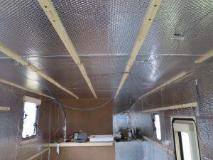 campervan ceiling batons