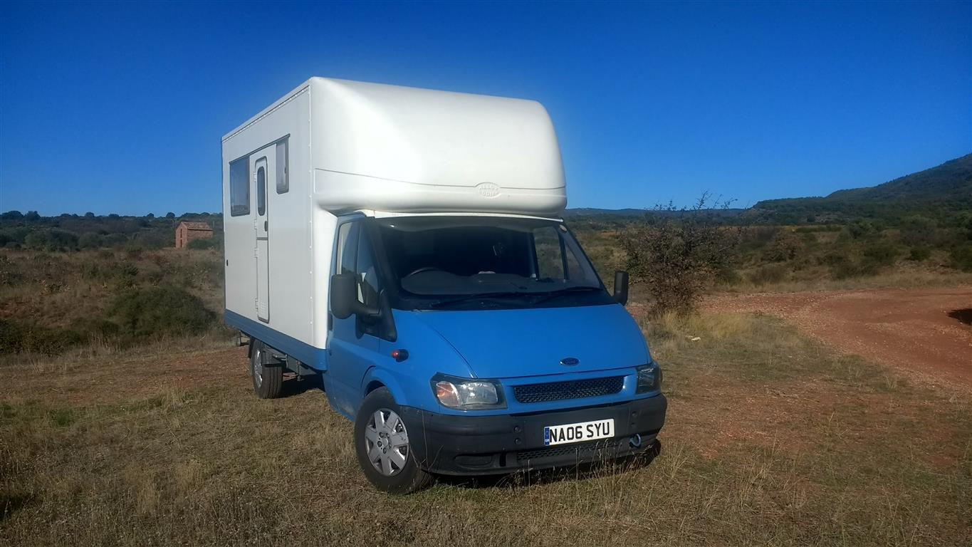 The Rolling Home – Converting a Luton Van to a Motorhome